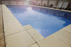 Private pool Royalty Free Stock Image