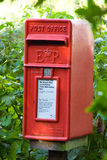 Private Post Box. A private post box which is located in the Mendips, in the county of Somerset, England Stock Images