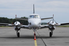 Private propeller airplane royalty free stock images