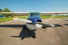 Private propeller plane Stock Image