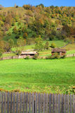 Private properties for sale. Private rural properties for sale in transylvania Stock Photo
