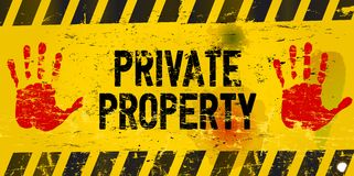 Free Private Property Stock Photography - 34323902