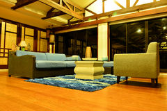 Private Residence VIP Resort living room in Negros Oriental, Philippines stock photos