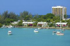 Private resort in Jamaica, Caribbean royalty free stock photography