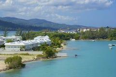 Private resort in Jamaica, Caribbean stock photo