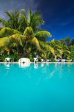 Private resort pool Stock Photo