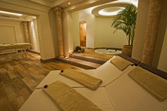 Private room in a luxury health spa Royalty Free Stock Photography