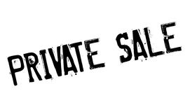 Private Sale rubber stamp Royalty Free Stock Photo