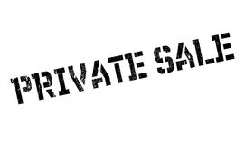 Private Sale rubber stamp Royalty Free Stock Image