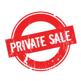 Private Sale rubber stamp Stock Image
