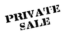Private Sale rubber stamp Stock Images