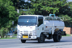 Private of Sewage truck Royalty Free Stock Image