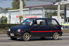 Private Small city car, Daihatsu Mira Royalty Free Stock Photography