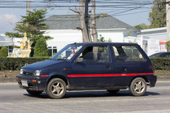 Private Small city car, Daihatsu Mira Royalty Free Stock Image