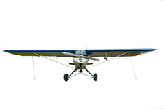 Private sport airplane Royalty Free Stock Photo