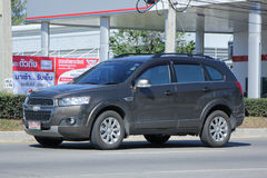 Private SUV car, Chevrolet captiva. Royalty Free Stock Images