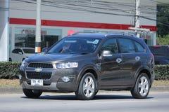 Private SUV car, Chevrolet captiva. Stock Image