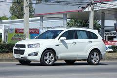 Private SUV car, Chevrolet captiva. Stock Photography