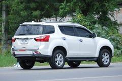 Private SUV car, Isuzu Mu x, Mu-x. Royalty Free Stock Image