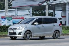Private Suv car, Suzuki ertiga Royalty Free Stock Image