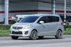 Private Suv car, Suzuki ertiga Stock Photography