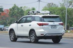 Private suv car, Toyota Fortuner. Stock Photo