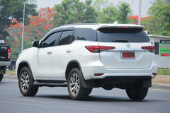 Private suv car, Toyota Fortuner. Stock Photography