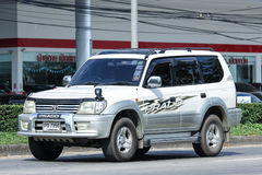 Private suv car, Toyota Prado Royalty Free Stock Images