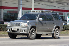 Private suv car, Toyota Sport rider Royalty Free Stock Photos