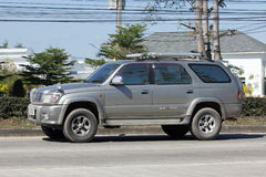 Private suv car, Toyota Sport rider Stock Images