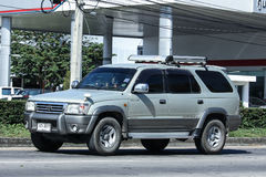 Private suv car, Toyota Sport rider Royalty Free Stock Image