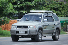 Private suv car, Toyota Sport rider. Stock Photography