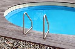 Private swimming pool Stock Photo