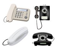 Private telephones Royalty Free Stock Photos