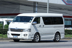 Private Toyota Ventury van. Royalty Free Stock Photography