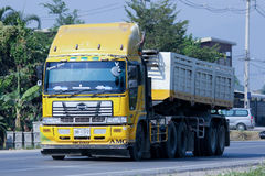 Free Private Trailer Dump Truck Stock Images - 49123324