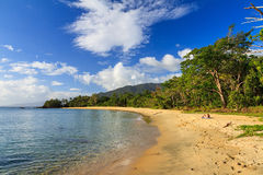 Private tropical beach Royalty Free Stock Image