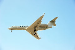 Private Twin Engine Jet Stock Photography