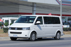 Private van, Volkswagen Transporter. Royalty Free Stock Photography