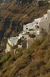 Private villa on the hillside Stock Image