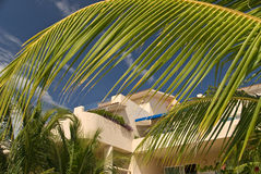 Private villas in Mexico Royalty Free Stock Photo