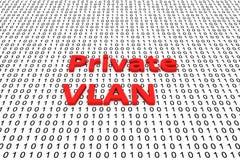 Private VLAN Stock Image