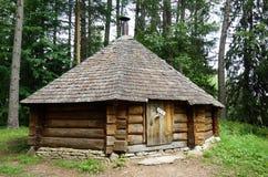 Private Waldhütte Stockfotografie