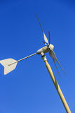 Private wind generator Stock Images