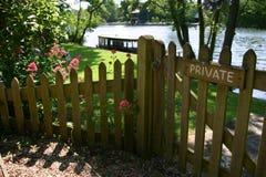 Privater Garten Lizenzfreie Stockfotos
