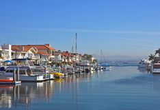 Privater Hafen Lizenzfreies Stockfoto