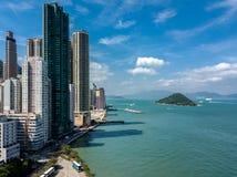 Privater Wohnungsbau von Hong Kong Lizenzfreies Stockbild