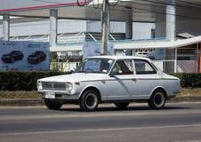 Privates altes Auto, Toyota Corolla Lizenzfreie Stockbilder