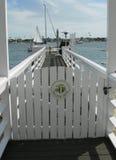 Privates Dock Stockfoto