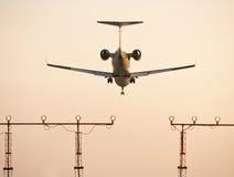 Privates Flugzeug lizenzfreies stockfoto